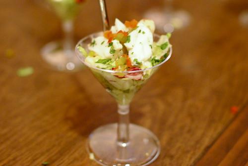 Hector Ramirez (Ruth's Chris) mini filet oscar style; crabtini; sweet potato casserole