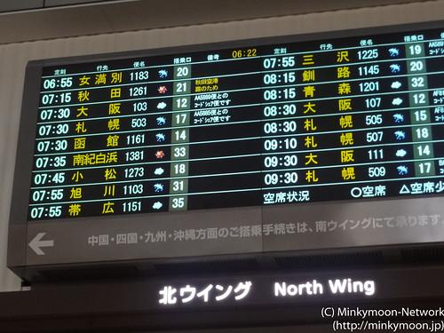 南紀白浜行き JAL1381便