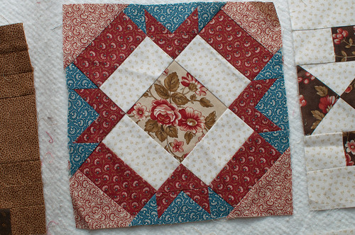 Last two blocks from the $5 quilt