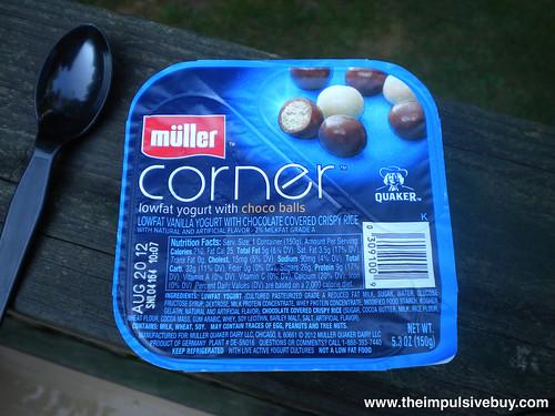 Quaker Mu?ller Corner Yogurt Choco Balls