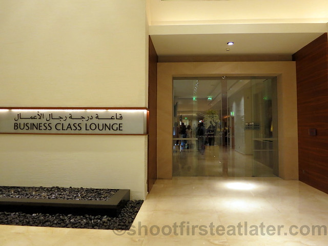 Qatar Airways Business Class Lounge at Doha International Airport-006