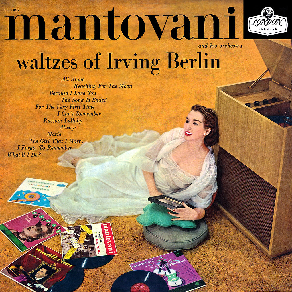Annunzio Paolo Mantovani - Waltzes of Irving Berlin