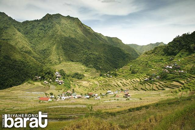 Batad Rice Terraces Ifugao Amphitheater shape