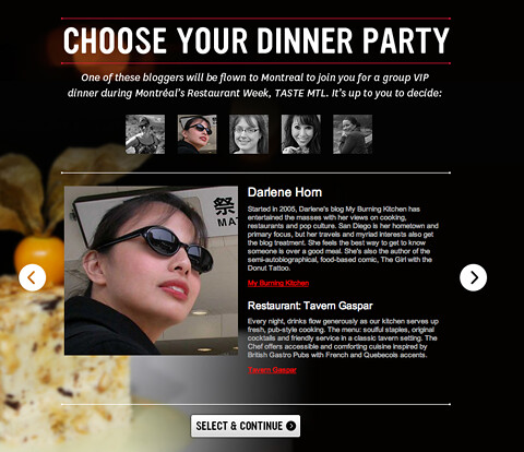 Choose Your DInner Party