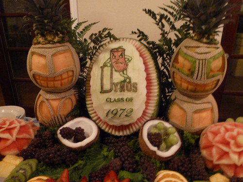 GHS 40th Reunion - Table Decorations