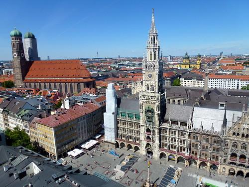 Overlooking Marienplatz