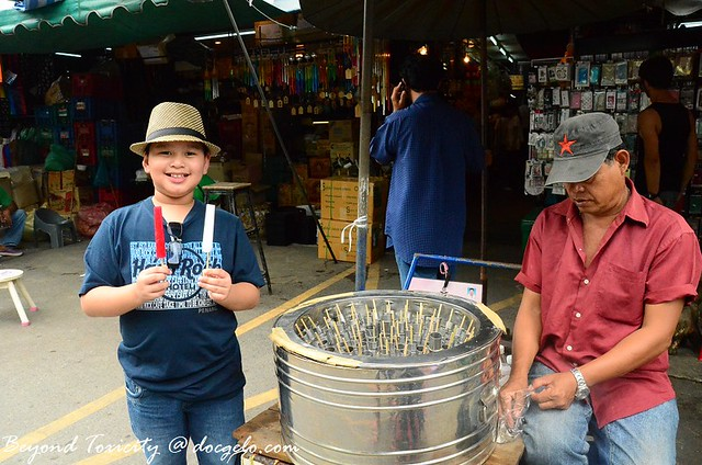 ice pops in chatuchak weekend market, bangkok