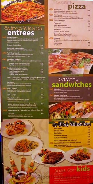 Napa Restaurant & Bar menu-003