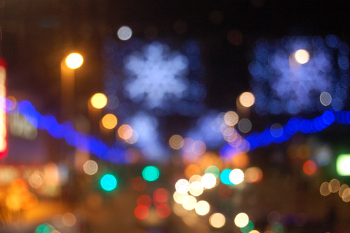 Blackpool bokeh by Alastair Montgomery