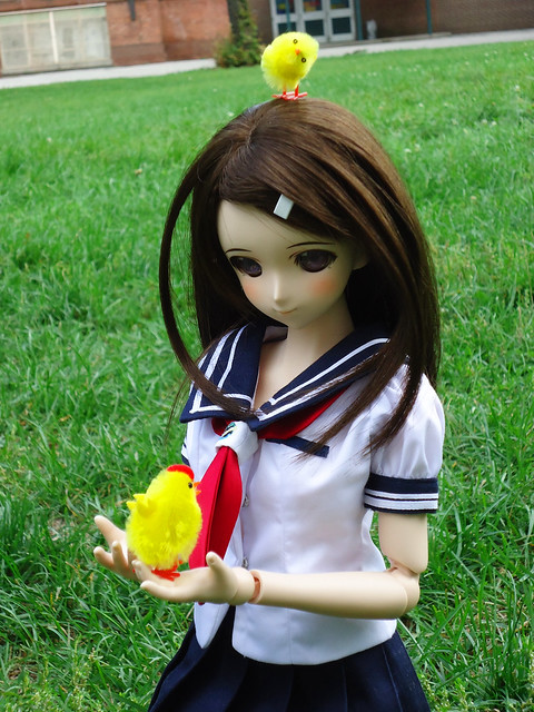 Haruka and birds!