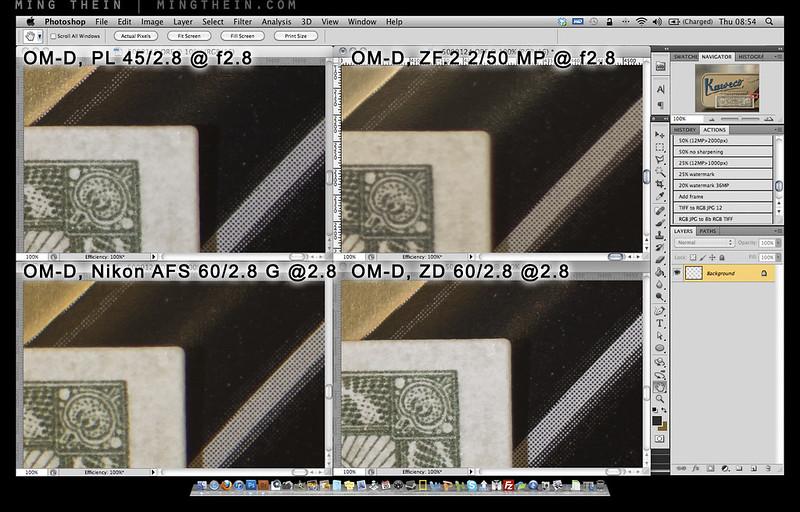 ZD60 comparison corner