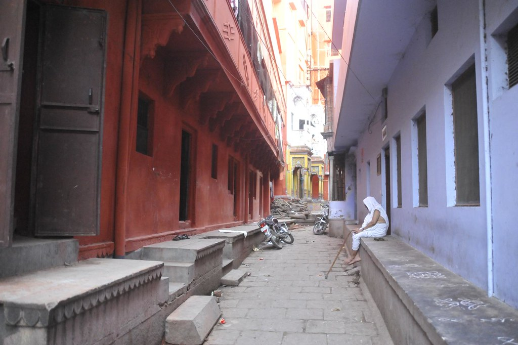 Alleys and stories within - Varanasi, India