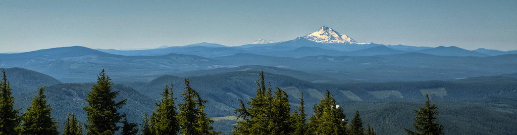 Mt. Jefferson and the Patchwork