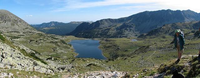 Lacul Bucura - panoramă