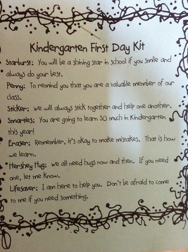 Message from the K Teachers