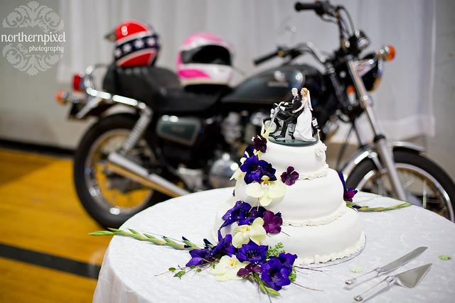 Cake and Motorbike