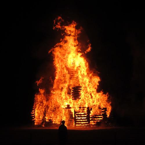 2012 Rose-Hulman bonfire