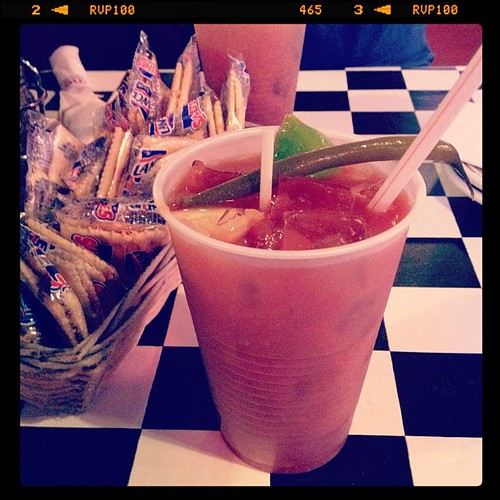 Virgin bloody mary for me!