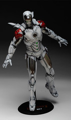 HT 1-6 Iron Man Mark IV (Hot Toys) Custom Paint Job by Zed22 (12)
