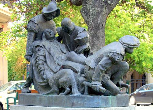 Monumento a San Ignacio de Loyola