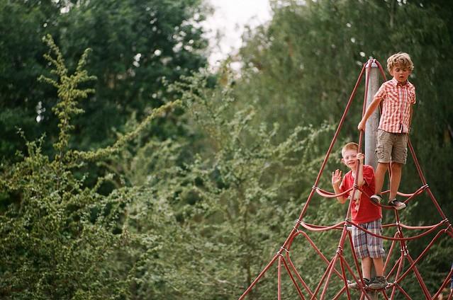 Playground near Petřín