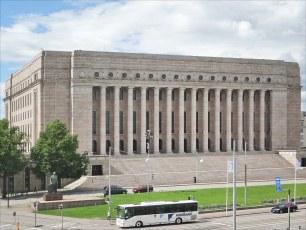 Le Parlement finlandais (Helsinki)
