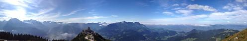 berchtesgaden view from Kehstein