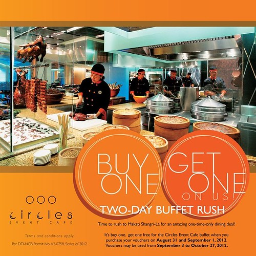 Circles-Event-Cafe-Buy-One-Get-One-Buffet-Rush-2012