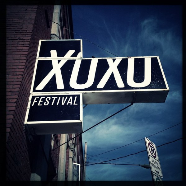Checking out the #xoxofest venue