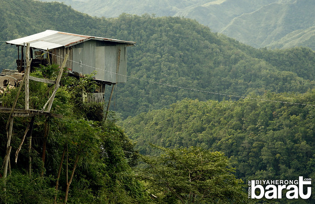 Hanging House on the way to Batad Ifugao