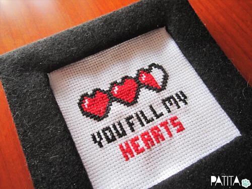 You fill my hearts. Jugones. Geek Love! :)934