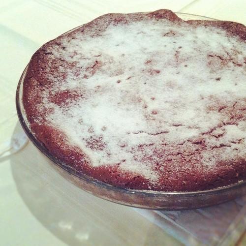 196. Bolo de chocolate sem farinha