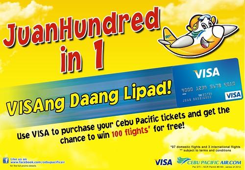 Cebu Pac & Visa tie-up