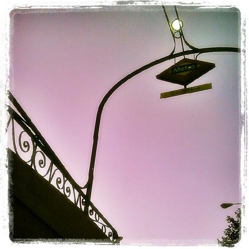 Pink sky