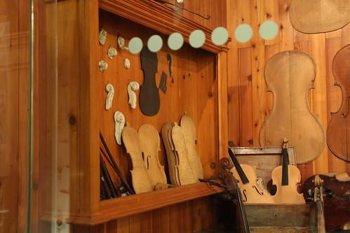 More violins