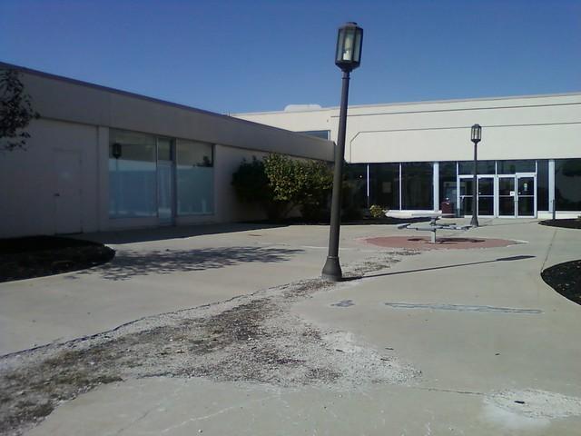 Sad state of local plaza