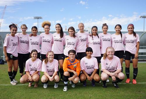 Santa Clara Sporting 95 Girls White Team