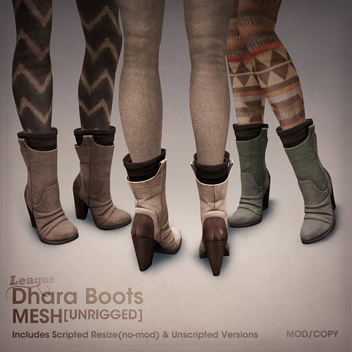 League Dhara Boots