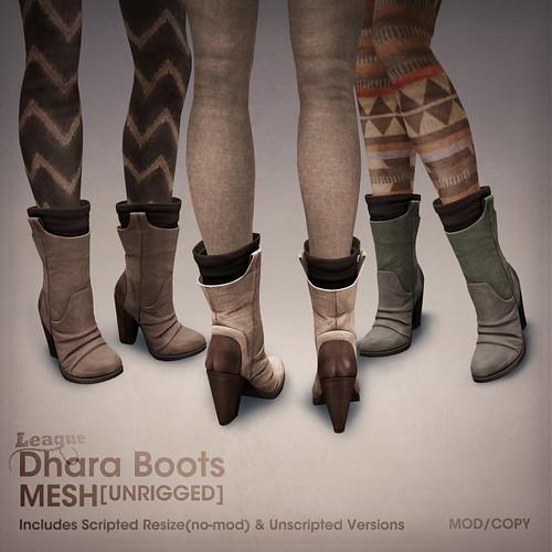 League Dhara Boots