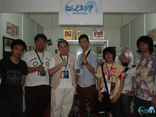 Go Suzuki-san from GSC Sales Dept. also visited us later on Day 2