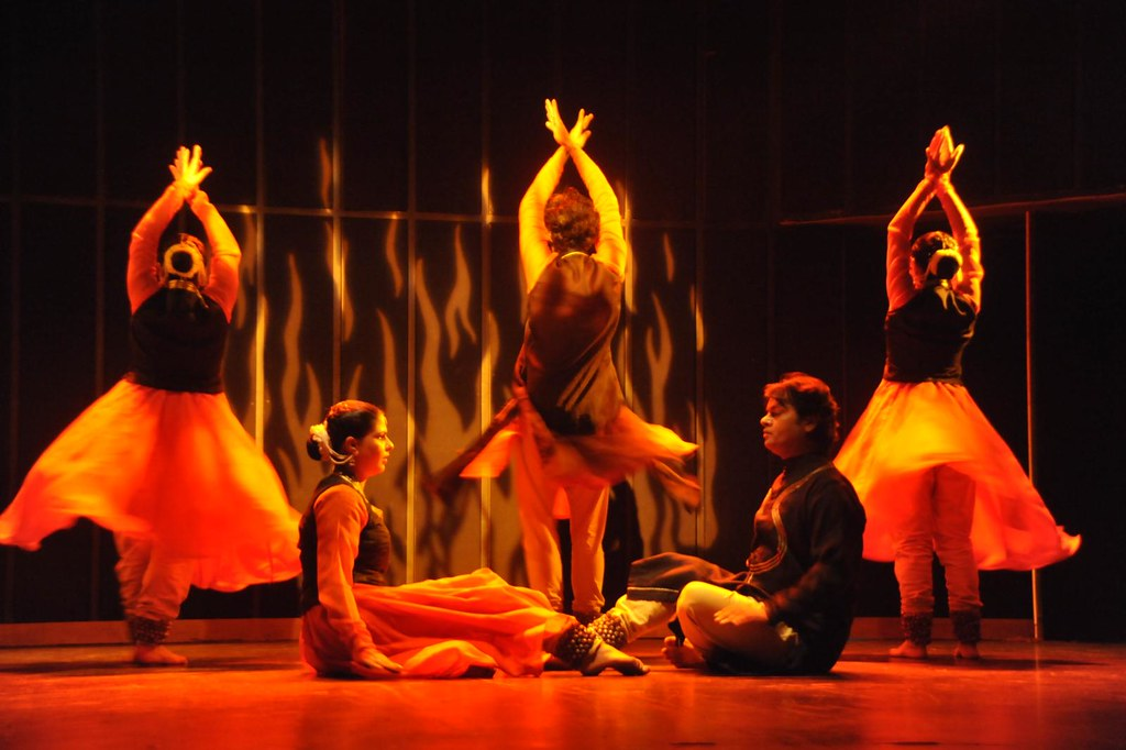 Kathak - 'Colors of Fire' - Choreography by Vidha Lal and Abhimanyu Lal