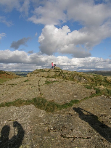A rocky knoll