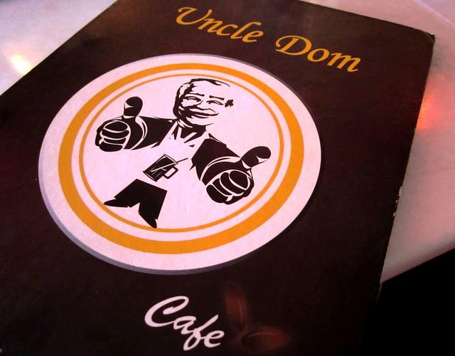 Uncle Dom menu