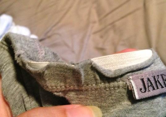 holey underwear