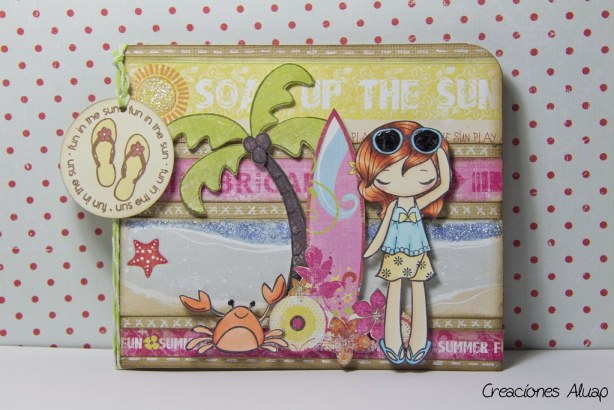 "tarjeta ""Fun in the sun"""