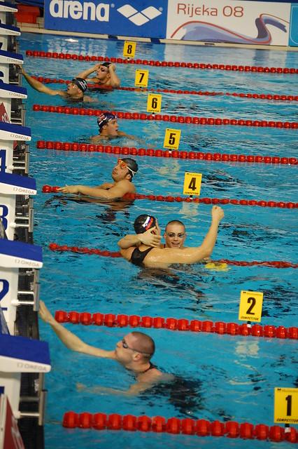 Markic won the Rijeka 2008 men's 50 breast