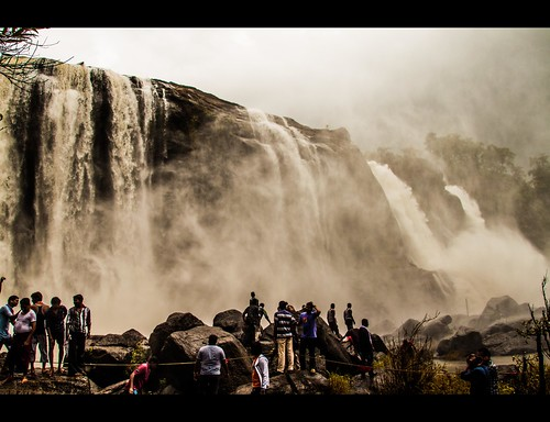 Athirampilly waterfall by Rajanna @ Rajanna Photography