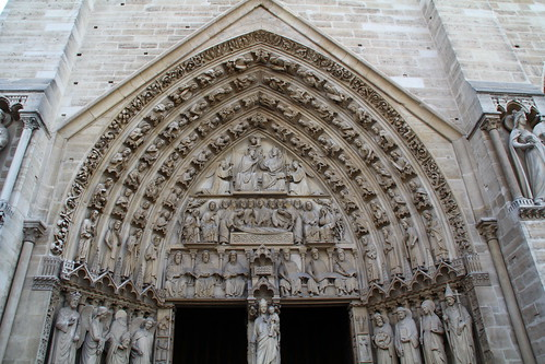 Entrance to Notre Dame