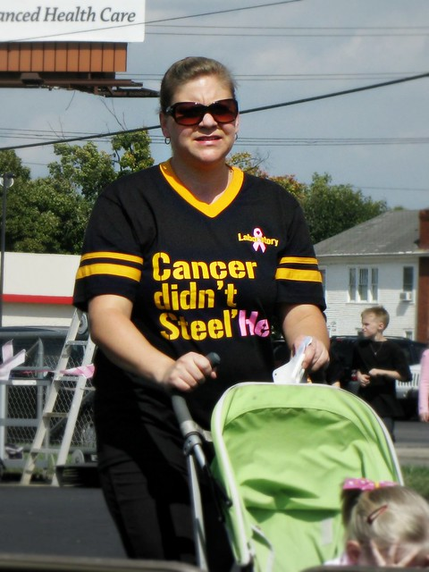 P2C Cancer Didn't Steel Her Shirt