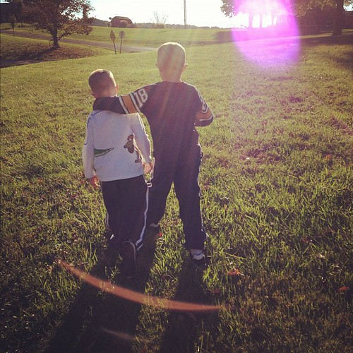 Brothers. Forever. #sunflare #autumnlight